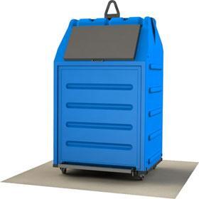 Papbox 1,5m³