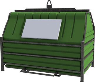 Papbox 10m³