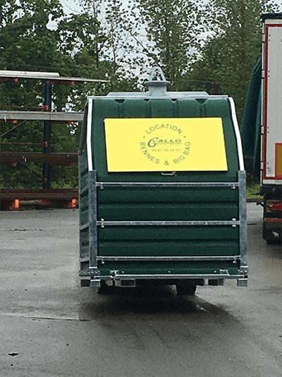 Conteneur Papbox : Gallo Entreprise
