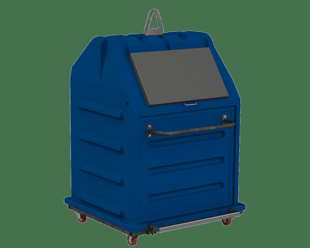 Conteneur PAPBOX 1m³