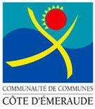 Logo Communauté de communes Côte d'Émeraude