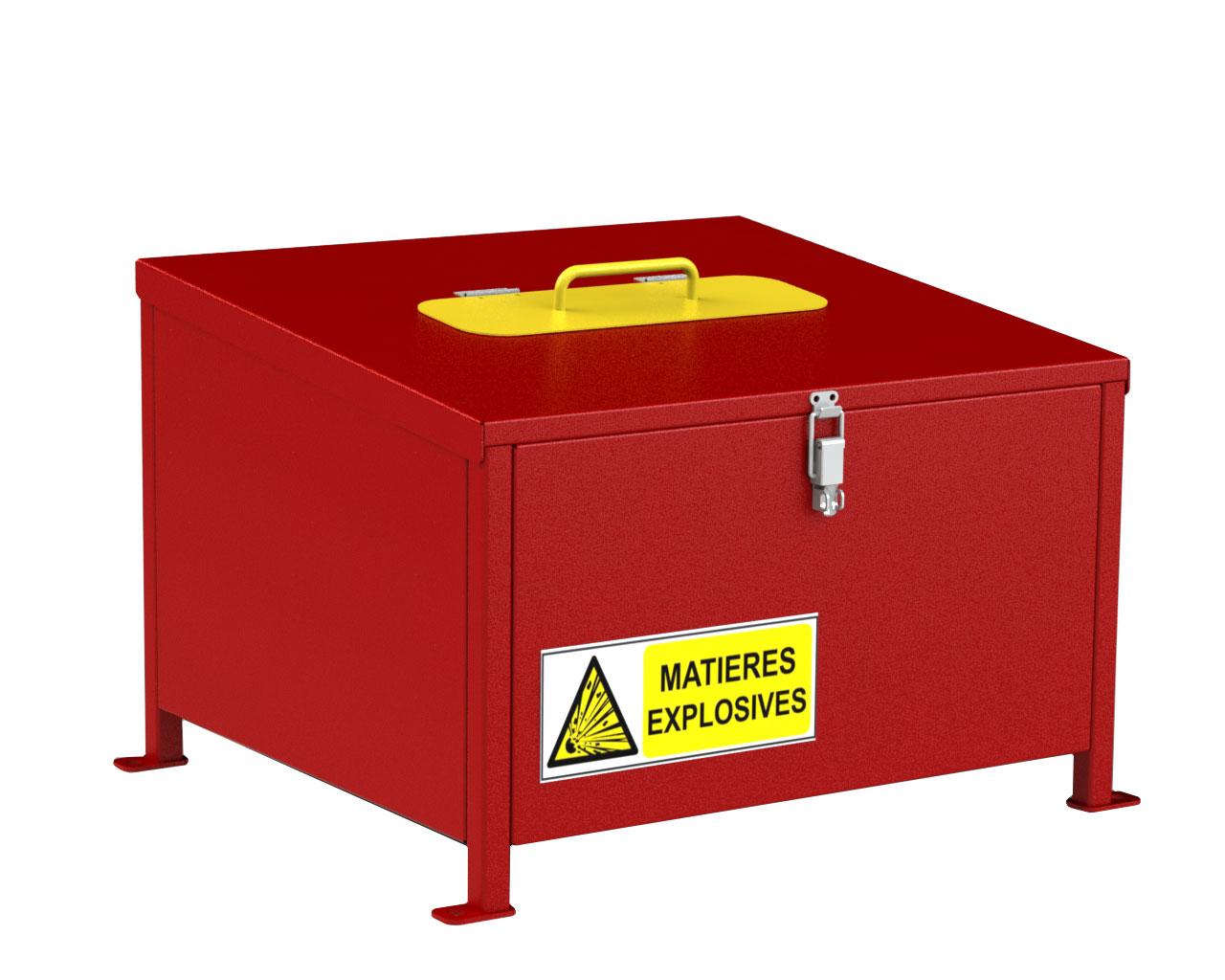 Conteneur BOX FUSÉE DE DÉTRESSE